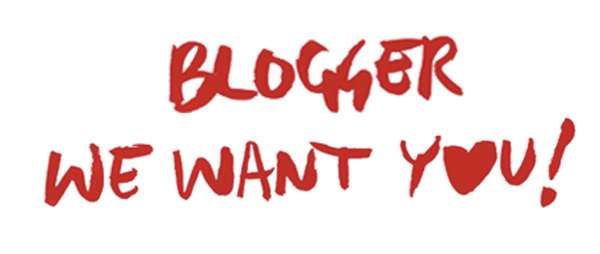 blogger we want you